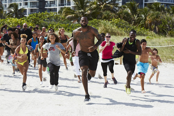 Nike Launches the LeBron James 8220Training Day8221 Campaign amp Commercial