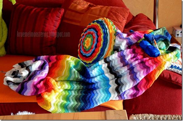 Ripple Blanket - Zwischenstand