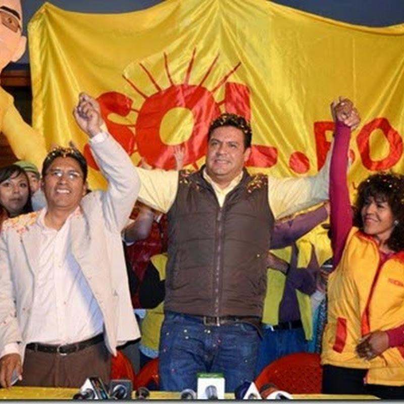 Subnacionales 2015: La Paz le dijo sí a Sol.bo y UN y no al MAS #BoliviaVota