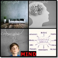 MIND- 4 Pics 1 Word Answers 3 Letters