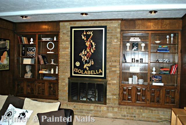 Ida's Shelves After - Primer&Painted Nails