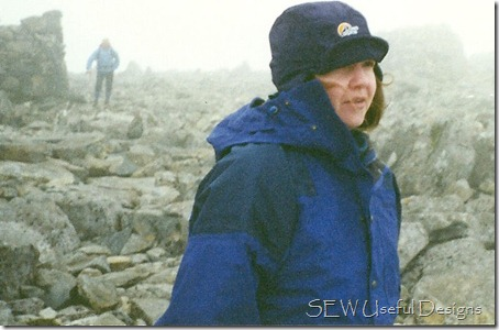 Vikki Ben Nevis summit
