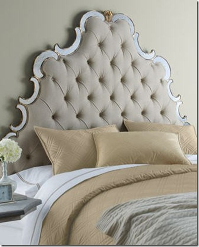 filigree headboard