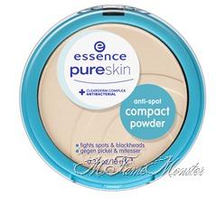 Anti-spot compact powder - 01 beige