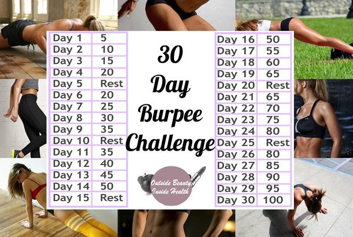 30 day burpee challenge info