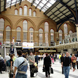 london station in London, London City of, United Kingdom