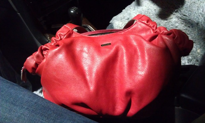 my new red bag