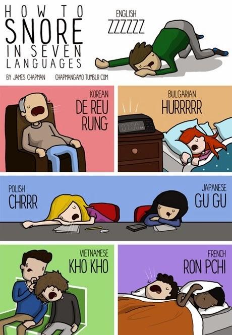 sforèitul in 7 limbi