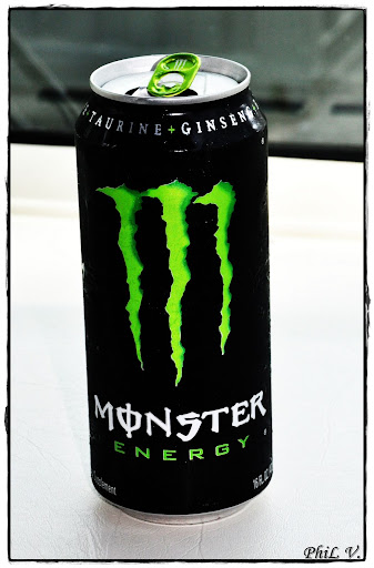 Monster Energy. Champion's drink.