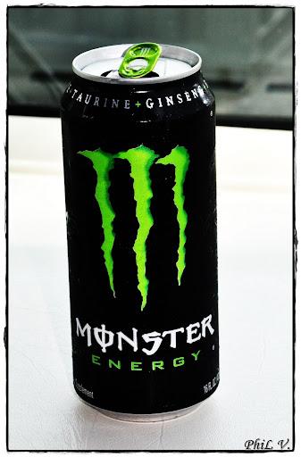 Monster Energy. Champion's drink.
