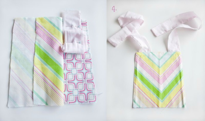 4 quarters apron tutorial by wild wandering