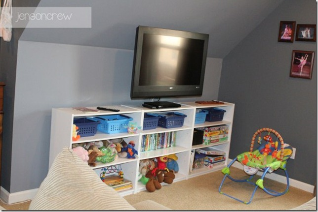 Play Room Bookcases