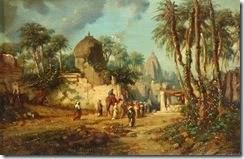 Auguste_Borget_-_'Oriental_landscape_',oil_on_panel