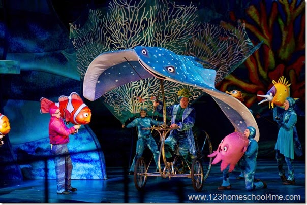 Animal Kingdom - Finding Nemo the Musical is a don't miss