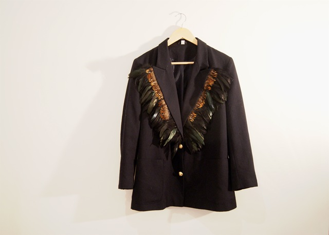 And there you have it- a beautiful, unique, en trend jacket which will get all your friends asking you where you got it!