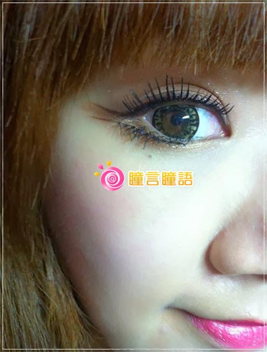 韓國GEO隱形眼鏡-芭比愛七彩鑽石咖9