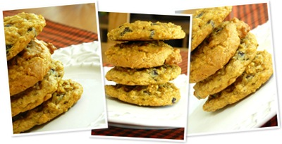 View pumpkin chocolate chip cookies