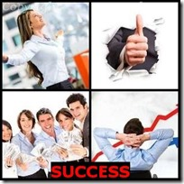 SUCCESS- 4 Pics 1 Word Answers 3 Letters