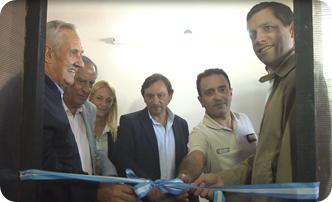 El intendente de la Municipalidad de La Costa, Juan Pablo de Jesús, acompañado por el Jefe de Gabinete del Ministerio de Seguridad bonaerense, Raúl Fernández, puso en funcionamiento el Comando de Prevención Rural
