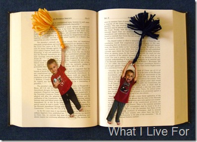 Kids Photo Bookmarks