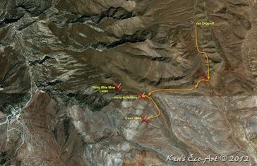 Mt Potosi Mine Map