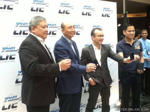 Smart 4G LTE - Smart and PLDT Executives