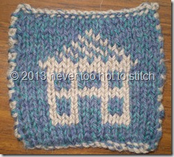 2013 double knitted coaster dark ground
