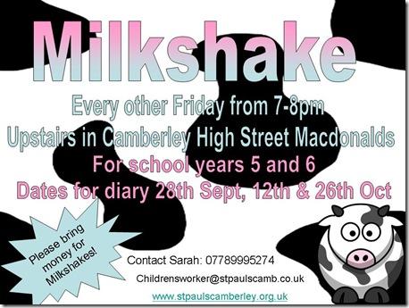 Camberley Milkshake