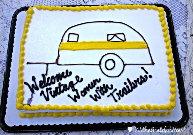 Vintage Trailer Cake