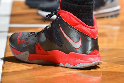 lebron james nba 140512 mia at bkn 25 game 4 LeBron Ties Playoff Career High 49 Points in New Soldier 7 PE