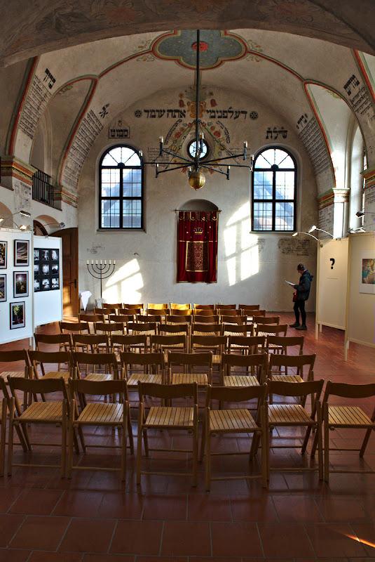Sinagoga abandonata.