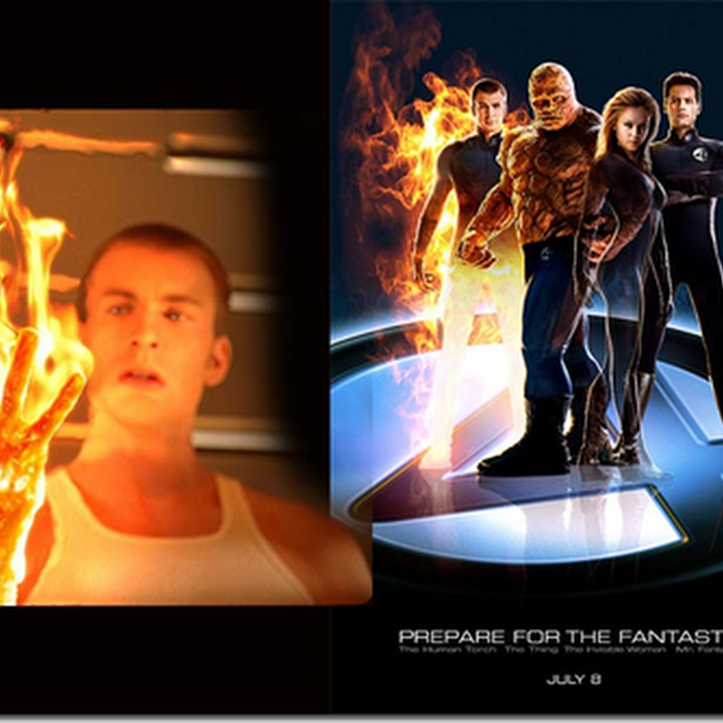 Watak Human Torch dalam Fantastic 4 ditiru ?