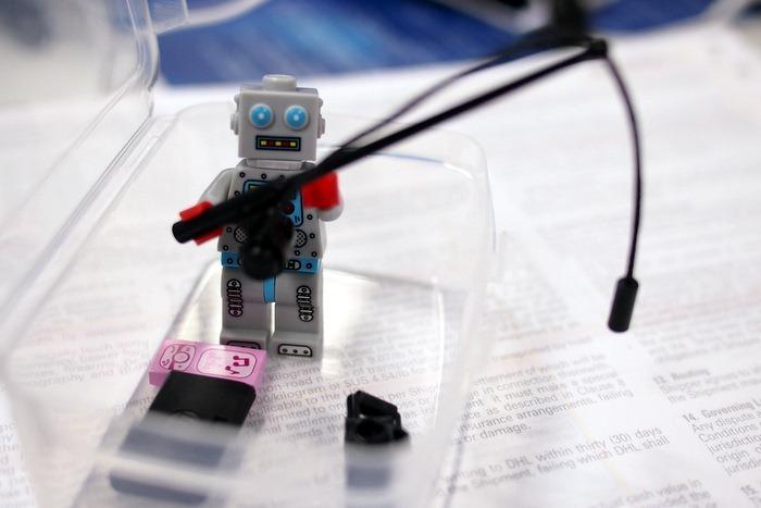 Mister Clockwork Robot Wants to Go Fishing