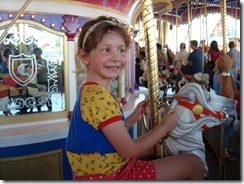 Laura loved the carosel.