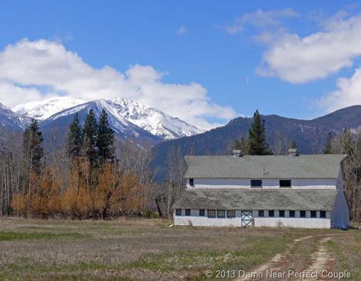 Old Barn on Refuge