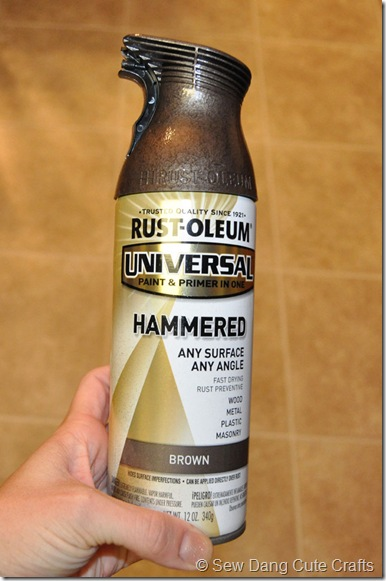 Rustoleum-Hammered