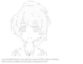 [AA]Koyama Yuzuko (Girls und Panzer)