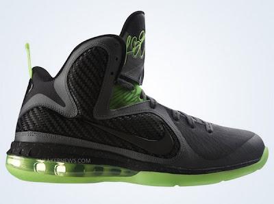 nike lebron 9 gr black green dunkman 2 02 Catalog Images of Upcoming Nike LeBron 9 Dunkman