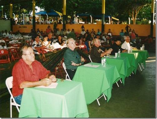 Jurados em Marilândia (Tião, J.Mendes, Patriarca e Adão)