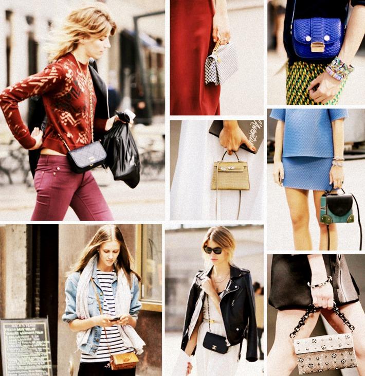 mini bags bolsas pequenas como usar novo