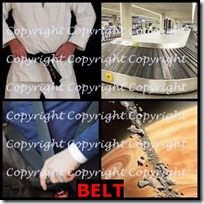 BELT- 4 Pics 1 Word Answers 3 Letters