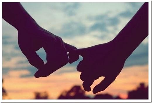o amor é feito de grandes gestos