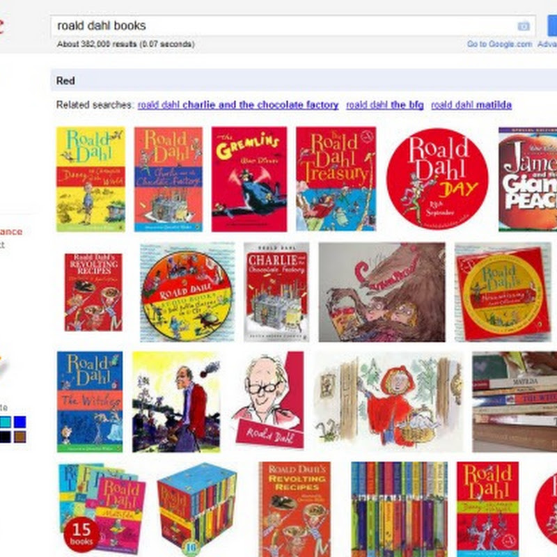 Find Books By Cover Color With Google Image Search