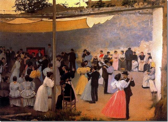ramon casas i carbo_Bal de l'après-midi_1896