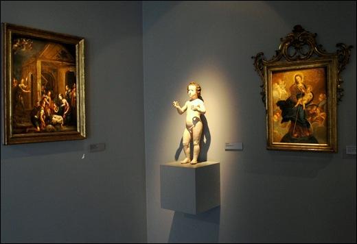 Gloria Ishizaka - museu de são roque - Adoração dos Pastores, Menino Jesus e Nossa Senhora com o menino 1