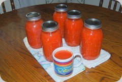 Our canned Tomato Juice