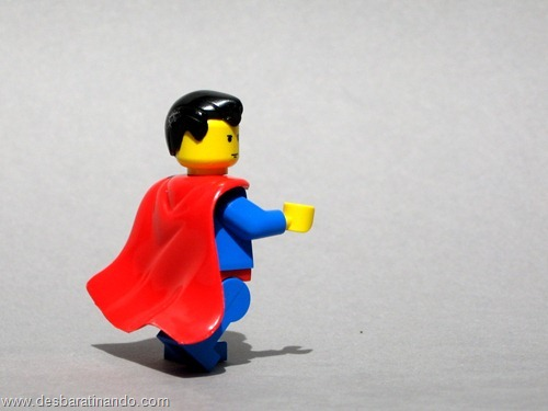 Super homem super heróis de lego desbaratinando  (1)