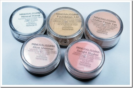 maquillaje mineral mineralissima