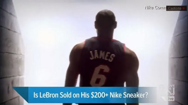 Wall Street Journal amp ESPN Report Nike Redefining LeBron 11 for LBJ