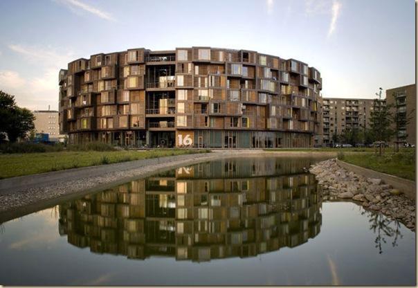 Résidence Tietgen au Danemark